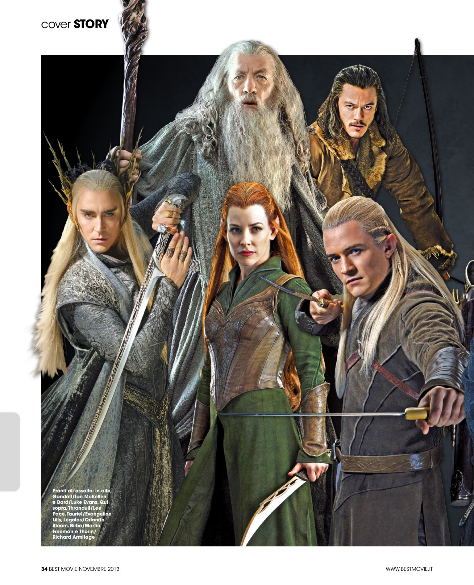 lee pace luke evans ian mckellen liv tyler orlando bloom the hobbit
