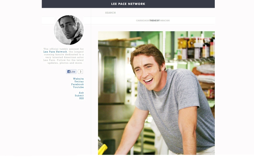 lee pace tumblr